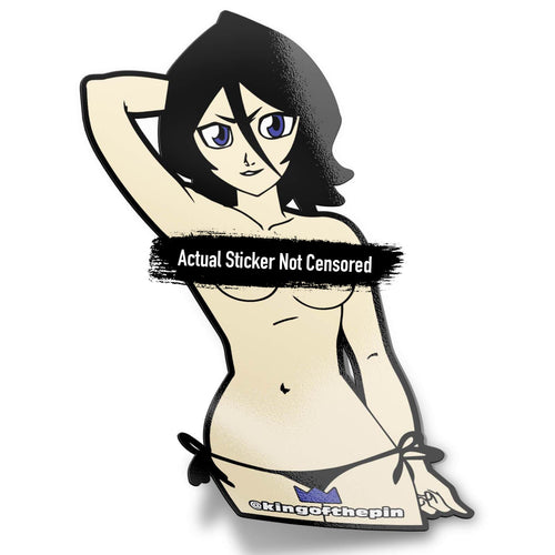 Rukia Kuchiki (Bleach) After Hours Sticker