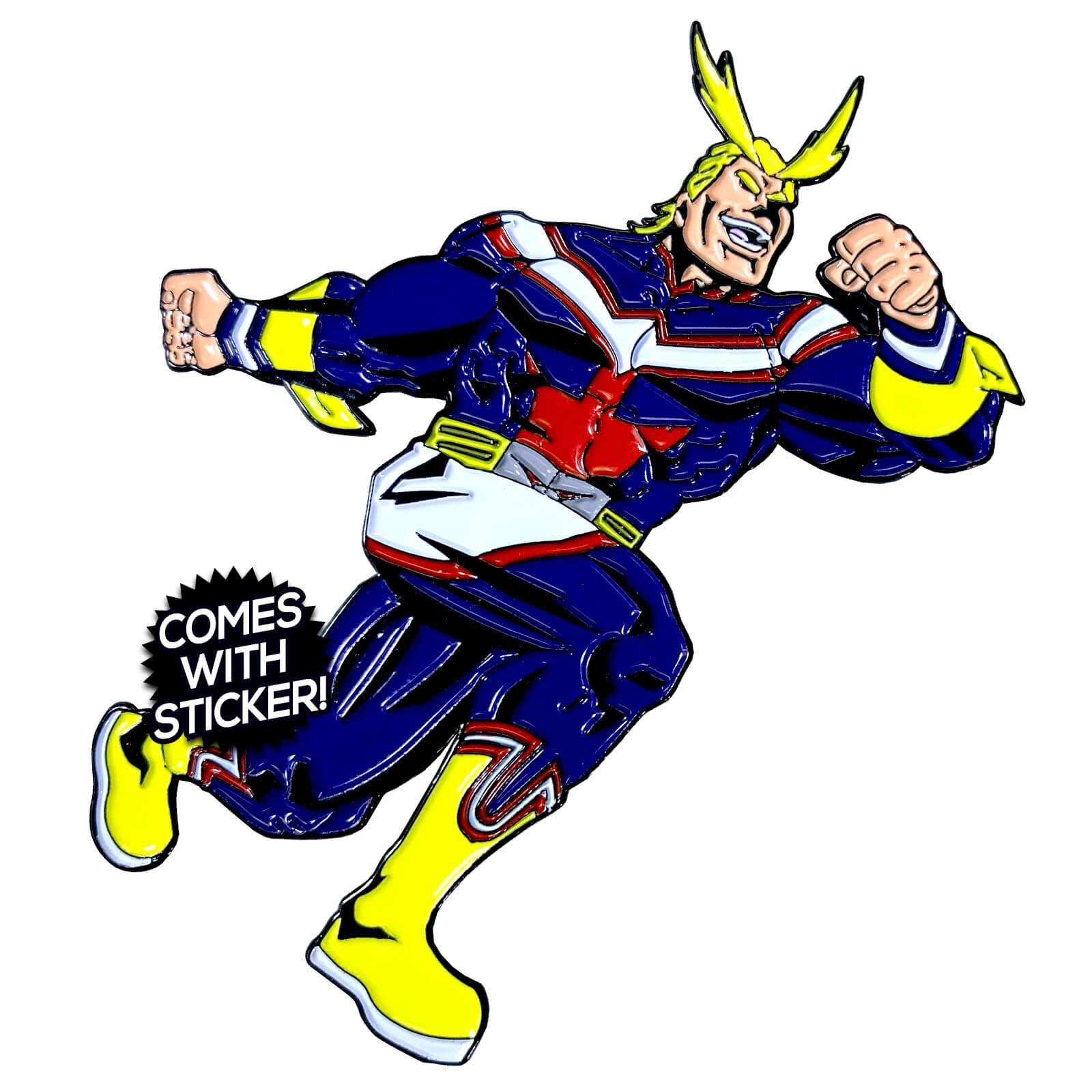 All Might SMASH Enamel Pin