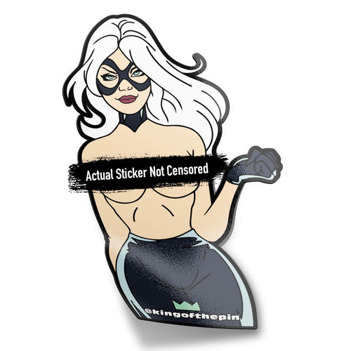 Black Cat [Felicia Hardy] (Spiderman) After Hours Sticker
