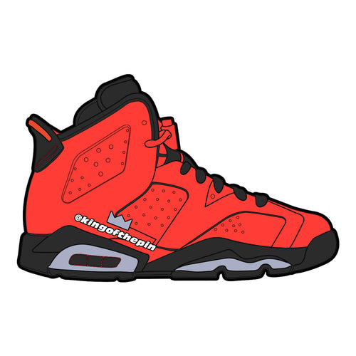 "Air Jordan 6 ""Infrared 23"" Sticker"