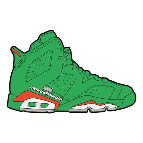 "Air Jordan 6 ""Gatorade Green"" Sticker"