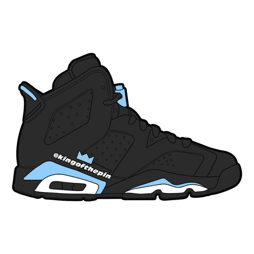 "Air Jordan 6 ""UNC"" Sticker"