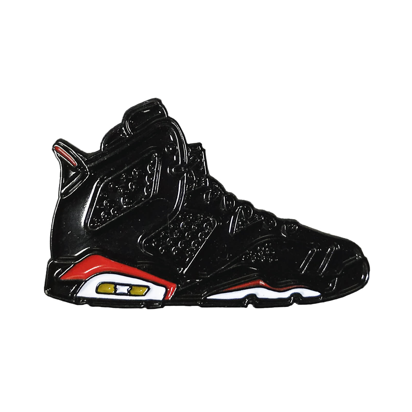 "Air Jordan 6 ""Infrared 2014"" Enamel Pin"