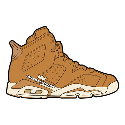 "Air Jordan 6 ""Golden Harvest"" Sticker"