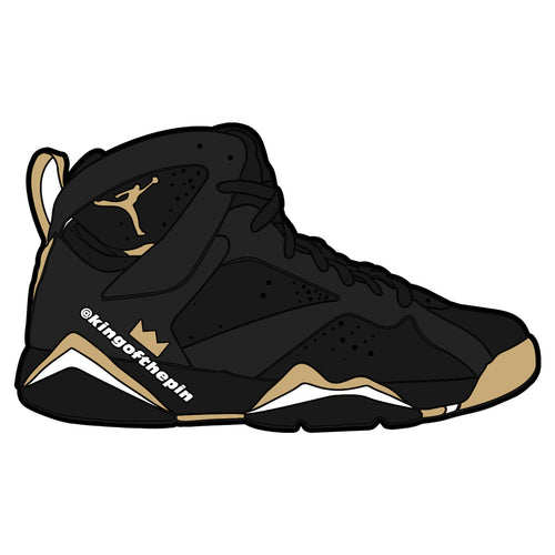"Air Jordan 7 ""Golden Moments"" Sticker"