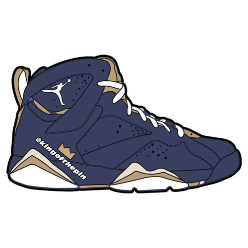 "Air Jordan 7 ""J2K"" Sticker"