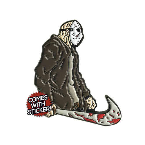 Just Kill Them (Jason Voorhees x Nike Mashup) Enamel Pin