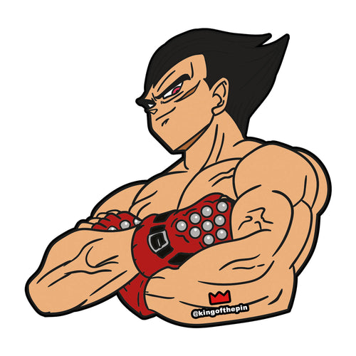 Kazugeta (Tekken x Dragon Ball) Sticker