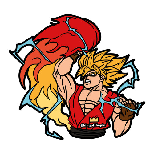 Kenku (Street Fighter x Dragon Ball Z Mashup) Sticker