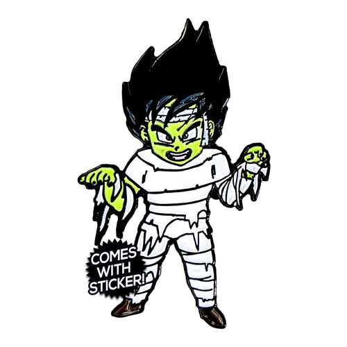 Kid Vegeta as Mumgeta (Halloween 2018) Enamel Pin