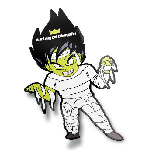 Kid Vegeta as Mumgeta (Halloween 2018) Sticker