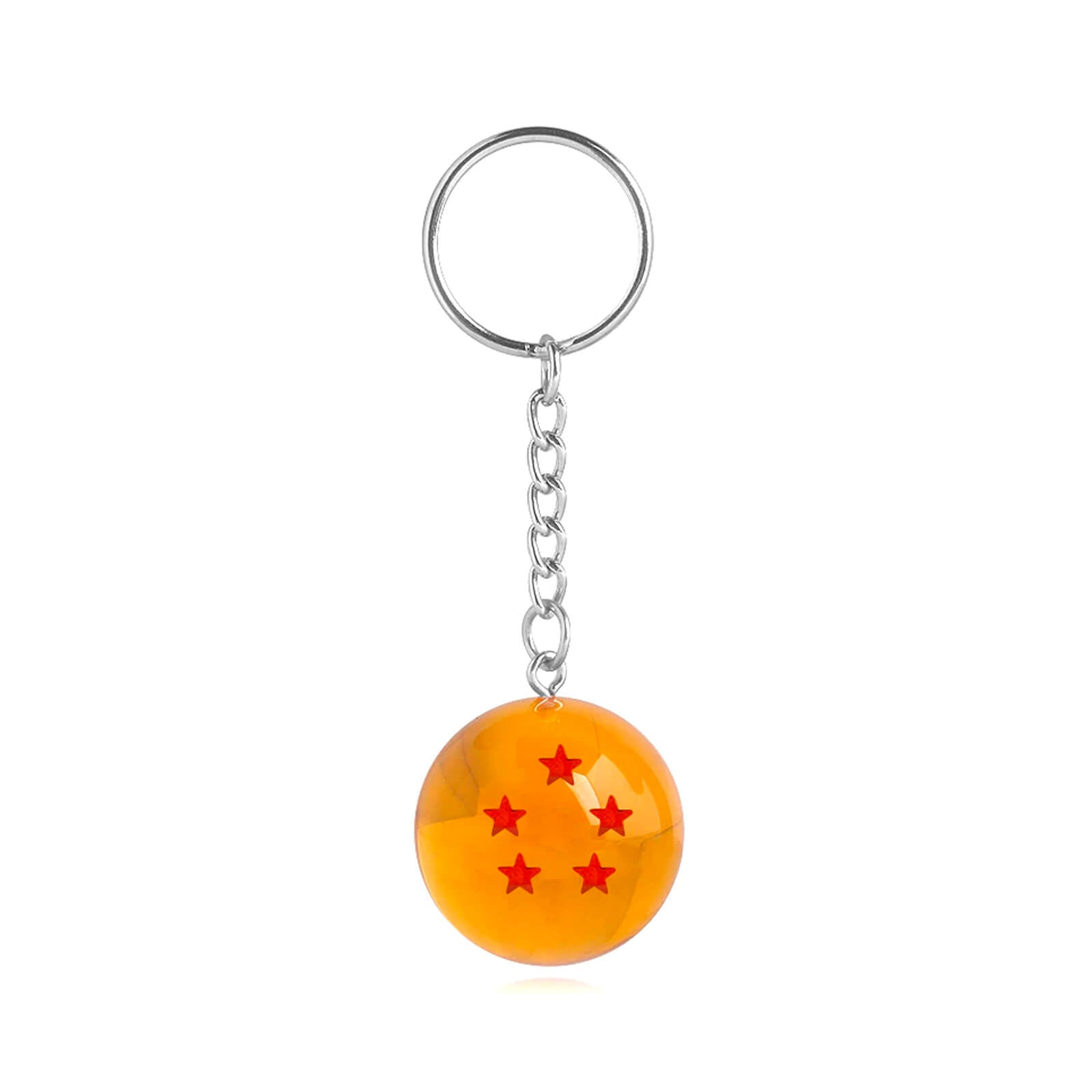 5 Star Dragon Ball Keychain