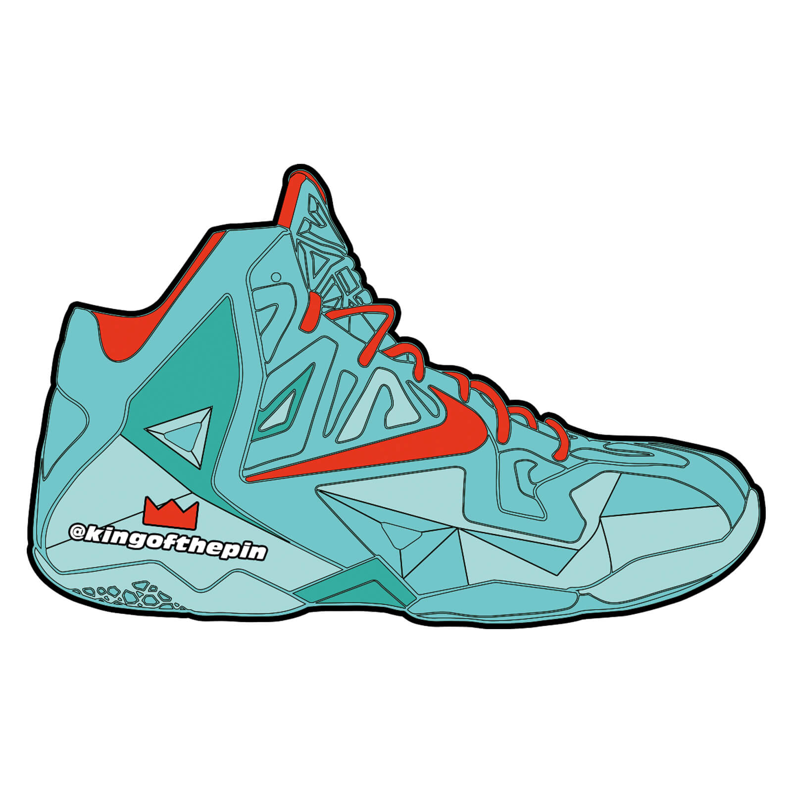 newest collection 2bd68 802e7 Nike Lebron 11 Christmas Green. nike lebron 11 christmas sticker