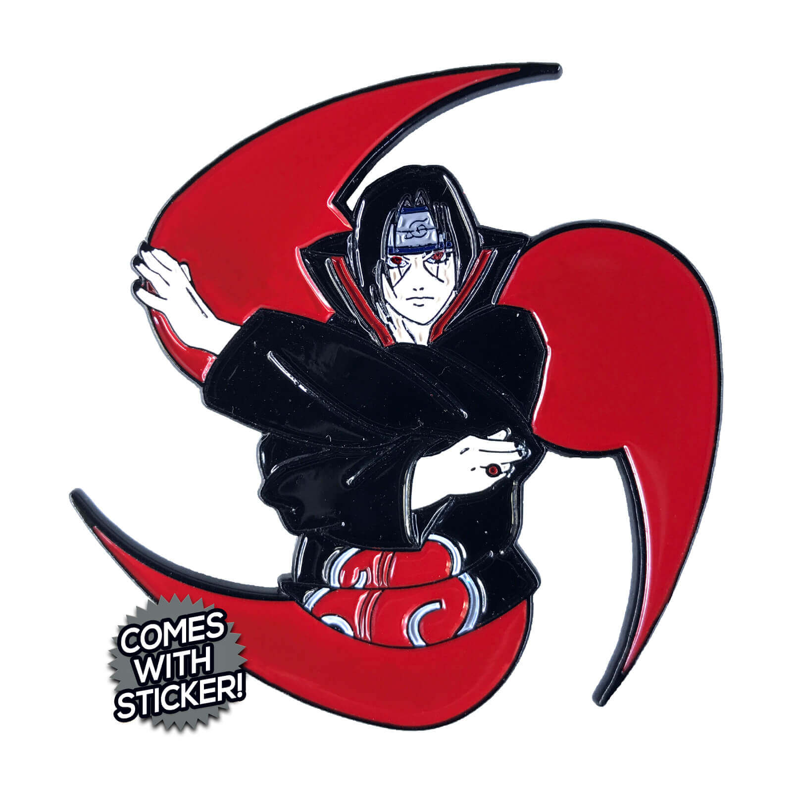 Legend of Itachi Enamel Pin