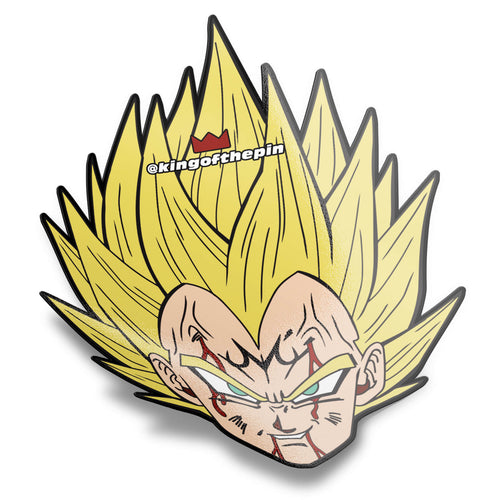 Majin Vegeta Head Sticker
