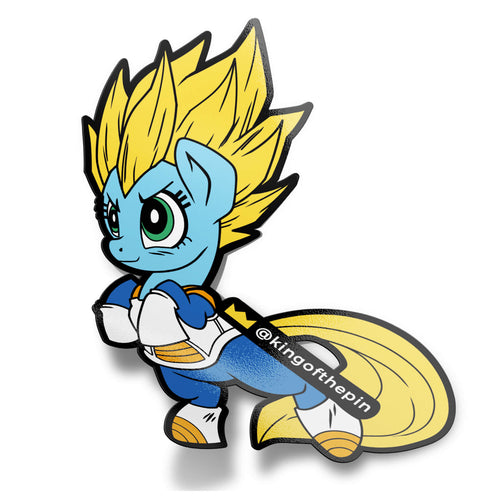 MLP Vegeta Sticker (PREORDER)