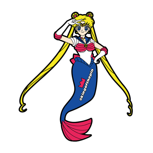 Moon Sailormaid Sticker