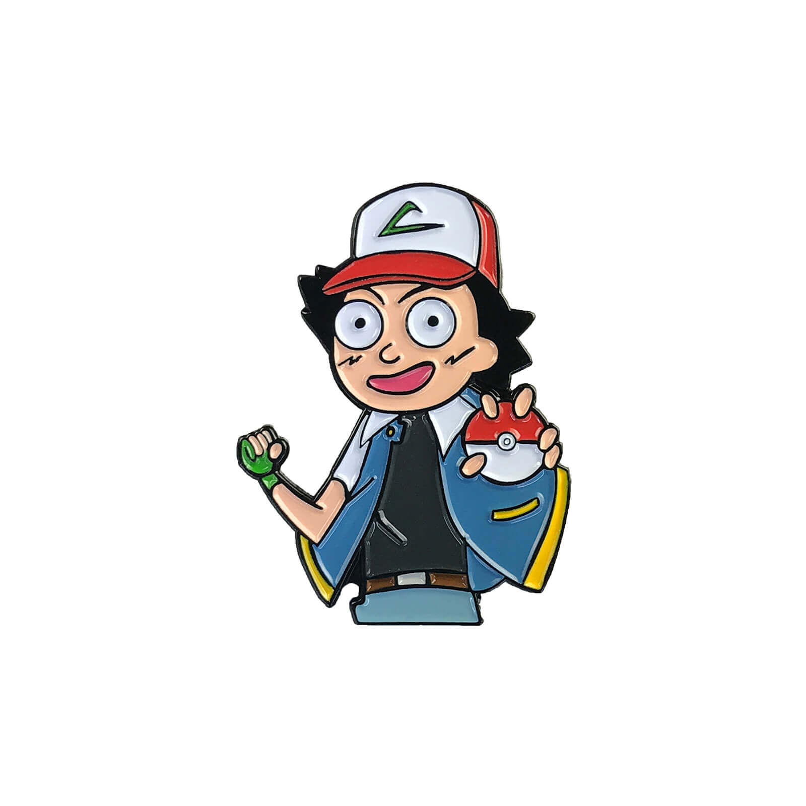 Morty Ketchum (Rick & Morty x Pokemon) Enamel Pin