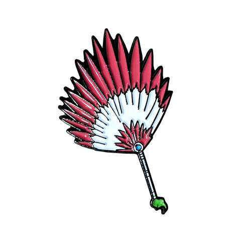 Bashosen Banana Palm Fan Enamel Pin (Naruto Weapons v1)