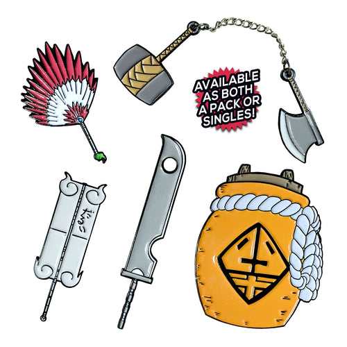 Naruto Weapons v1 (5 Pin) Pin Pack
