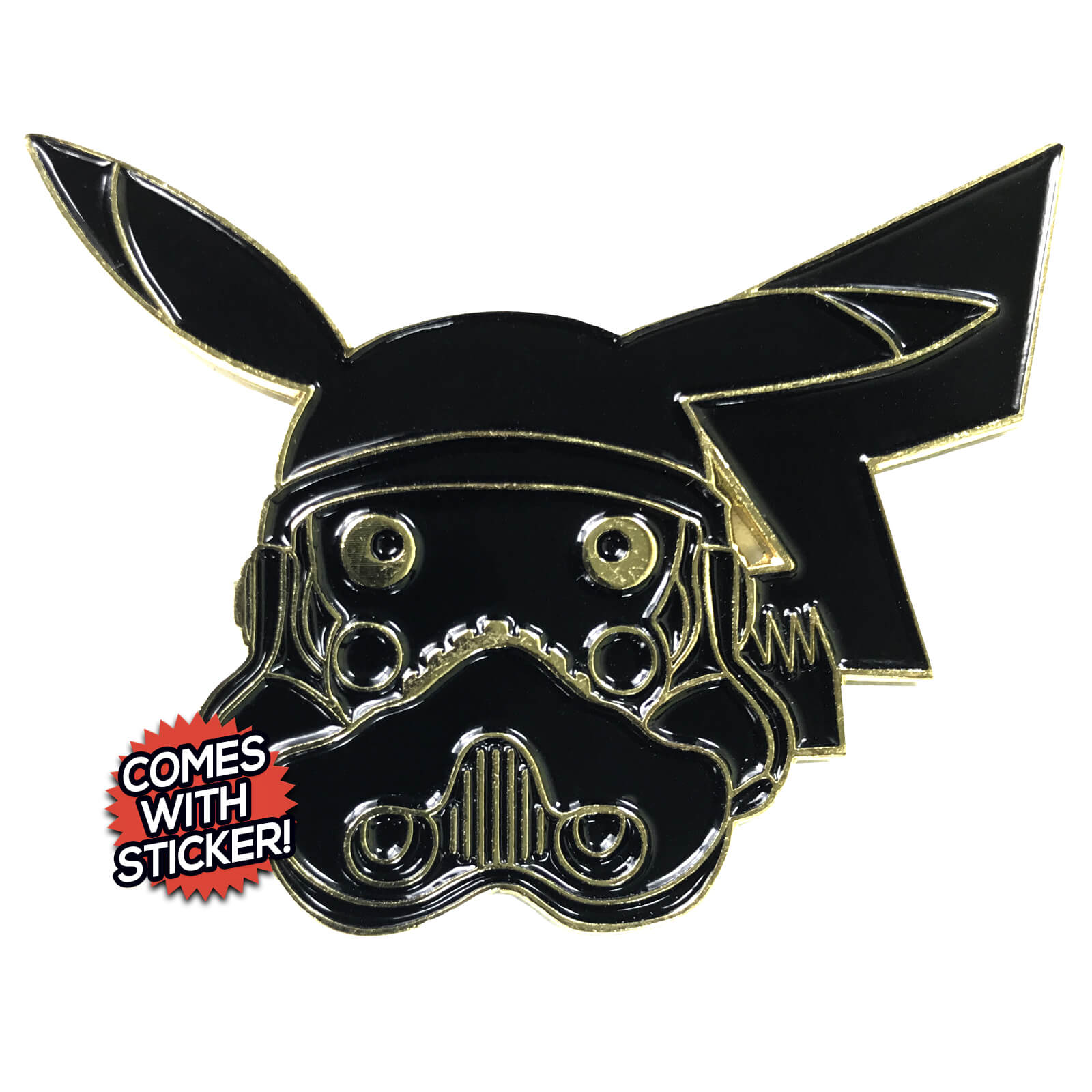 Pikachu PokeTrooper Enamel Pin