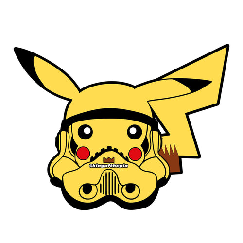 Pikachu PokeTrooper Sticker