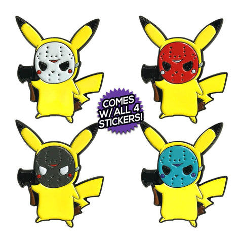 PokeMasks (10 Pin) Full Set