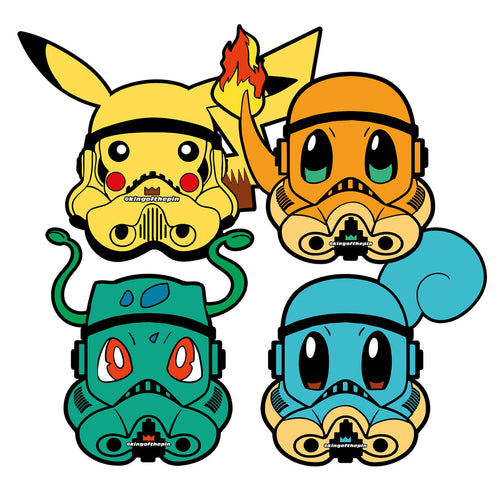 PokeTrooper Sticker Pack