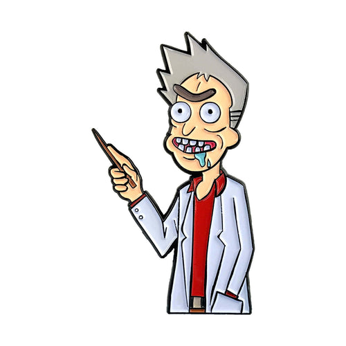 Professor Rick (Rick & Morty x Pokemon) Enamel Pin