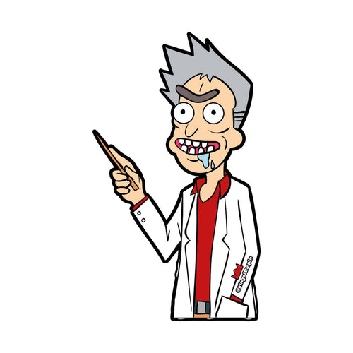 Professor Rick (Rick & Morty x Pokemon) Sticker