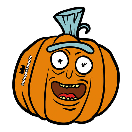 Pumpkin Rick Sticker