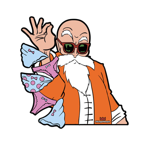 Roshi Bae Sticker