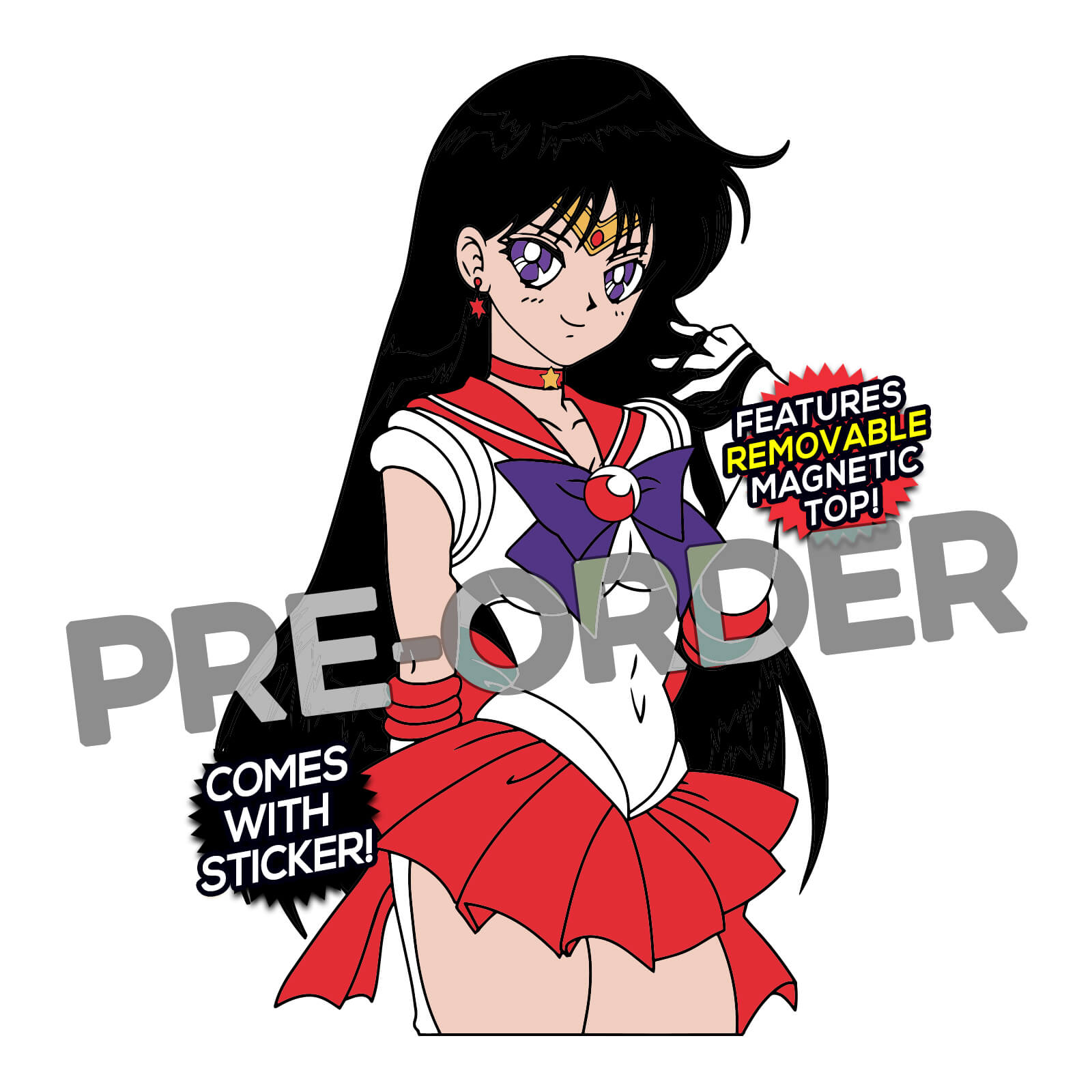 Sailor Mars After Hours  Enamel Pin