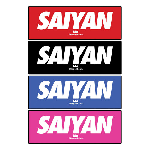 Supreme Saiyan Sticker Pack