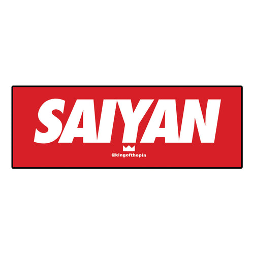 Supreme Saiyan (Red) Sticker
