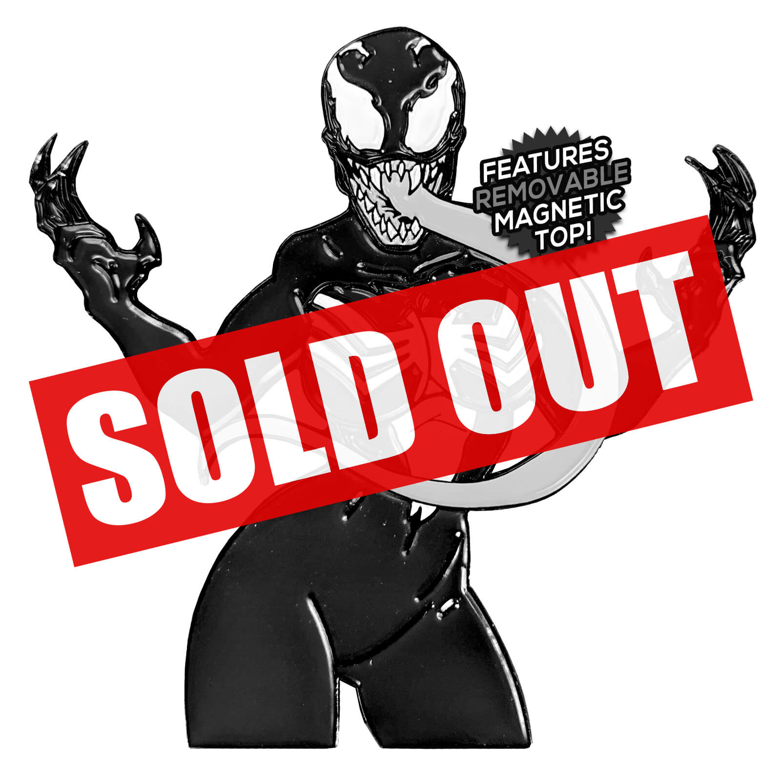 She-Venom After Hours Enamel Pin