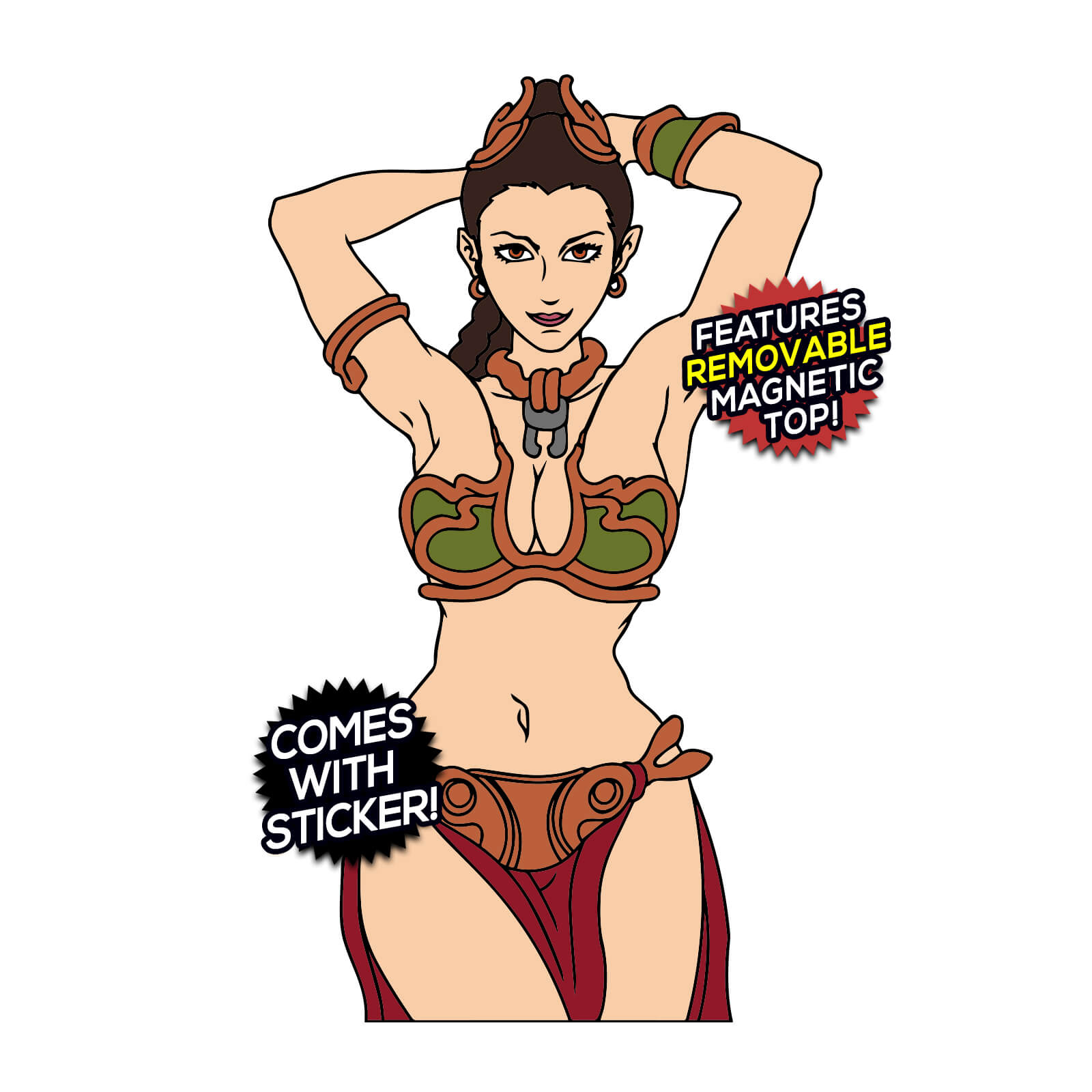 Slave Leia (Star Wars) After Hours Enamel Pin