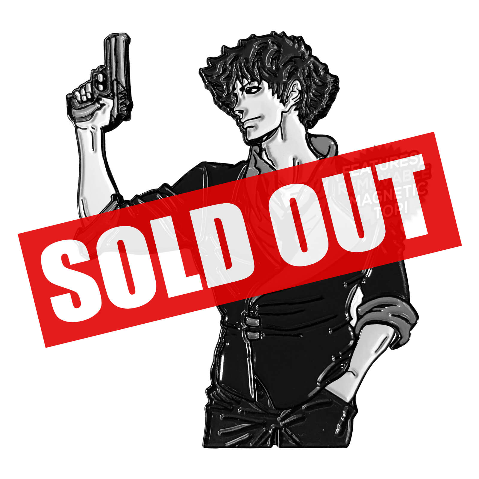 Spike Spiegel (Shirtless Hero) Enamel Pin