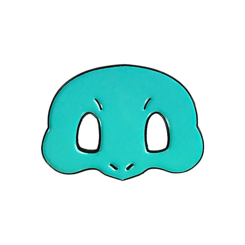 Squirtle PokeMask Enamel Pin