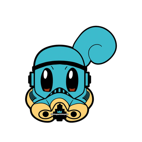 Squirtle PokeTrooper Sticker
