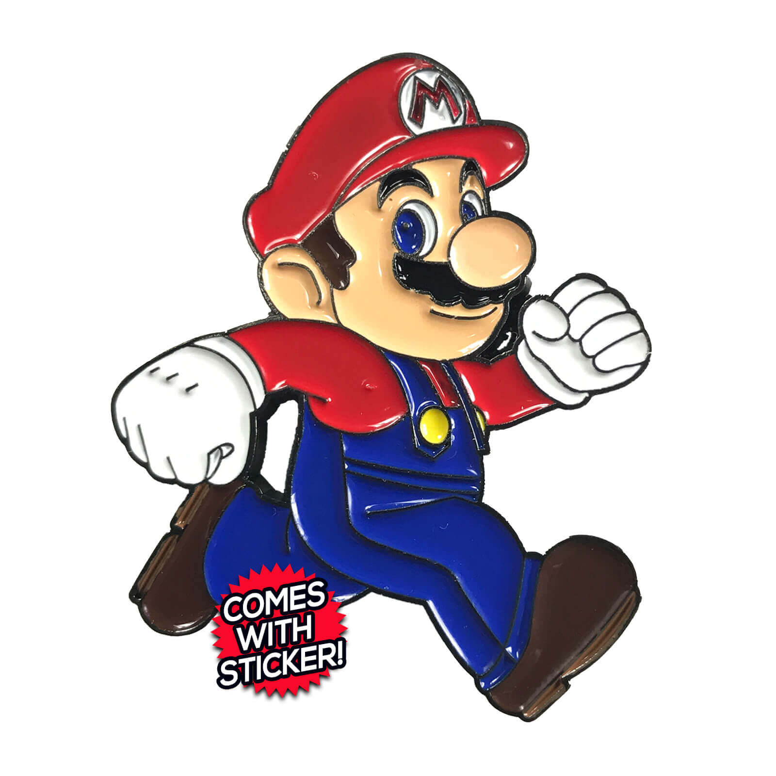 Super Mario Run Enamel Pin