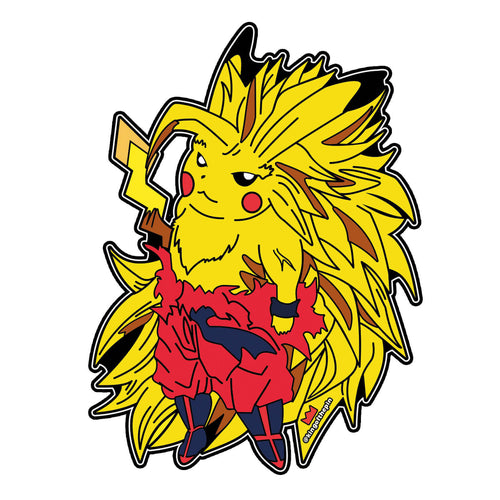 Super Saiyan Pika 3 Sticker