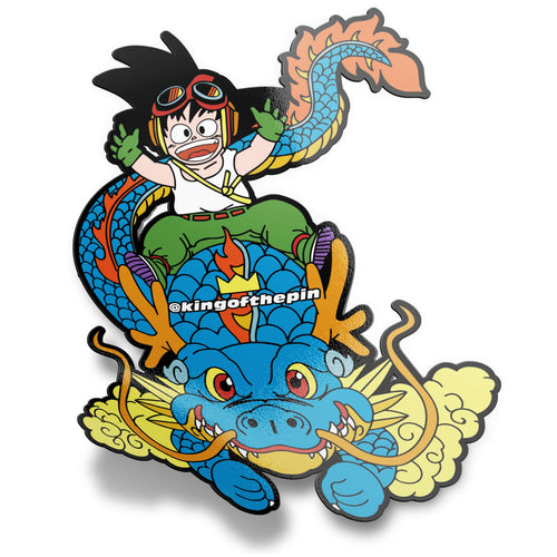 The Kid & The Dragon Sticker