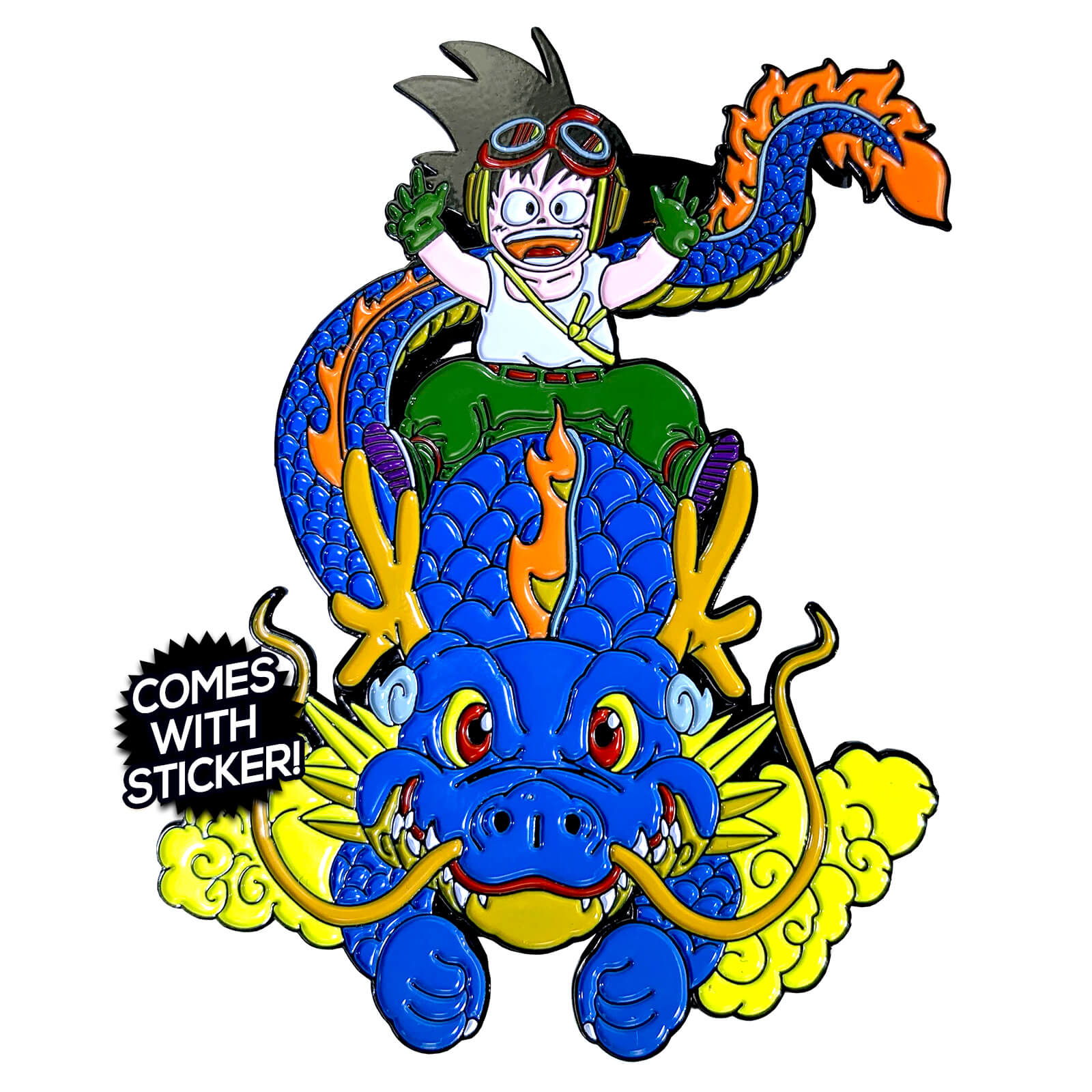 The Kid & The Dragon Enamel Pin