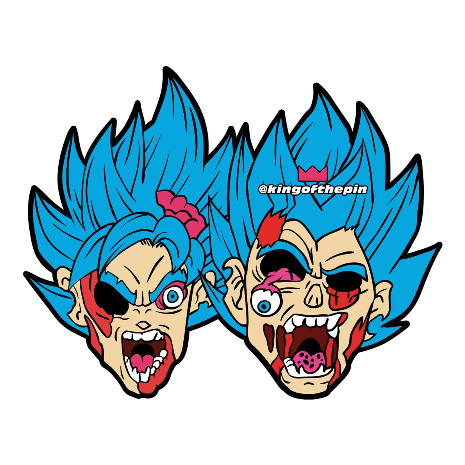 The Lost Saiyans Sticker