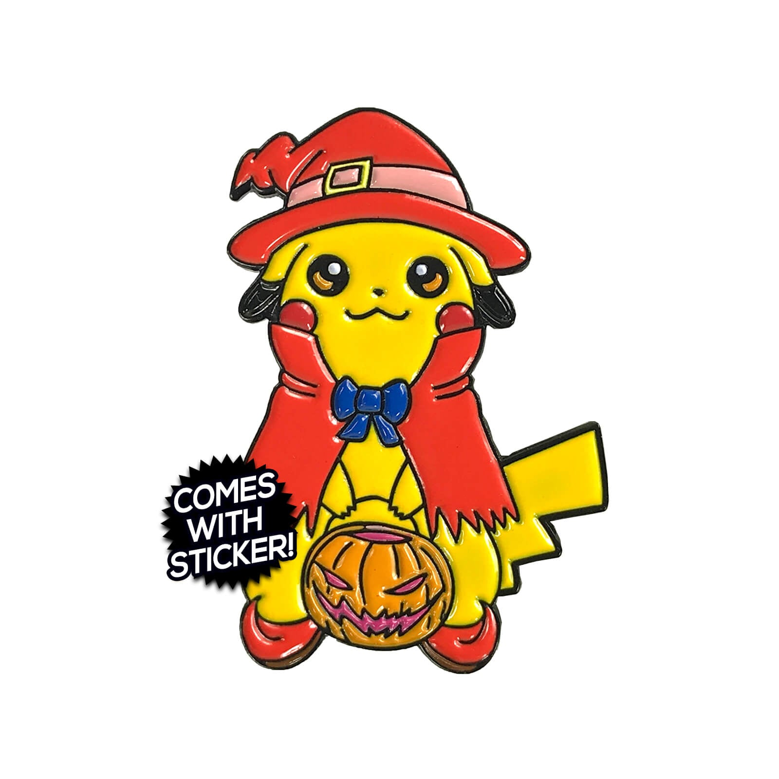 Trick or Chu Enamel Pin