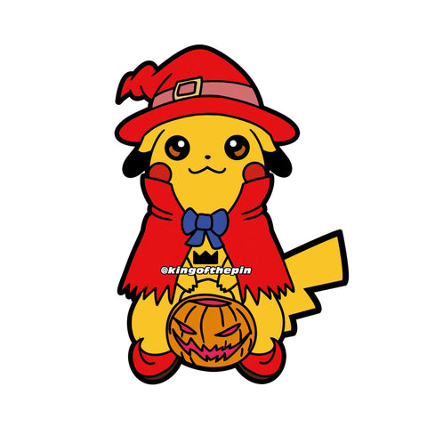 Charmander PokePumpkin Enamel Pin