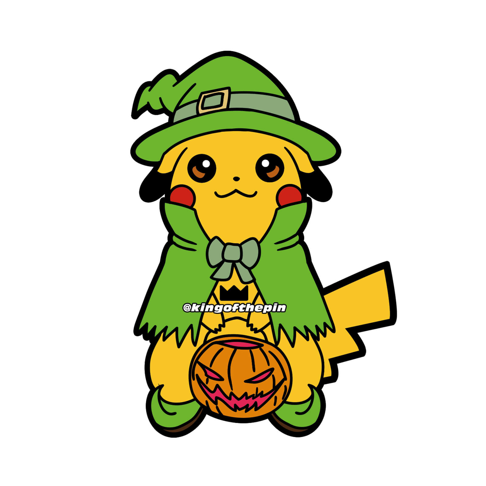 Trick or Chu Sticker