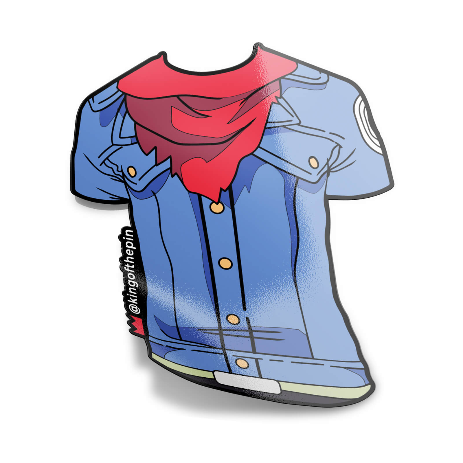 Trunks Cosplay Tee Sticker
