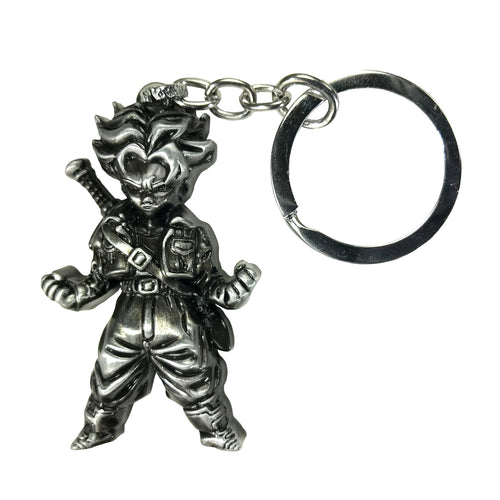 Trunks Dragon Ball Z (Silver) Keychain